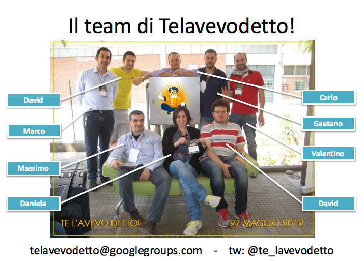 Team-Telavevodetto