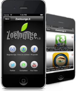 Zoelounge iOs App disponibile al Download su App Store.