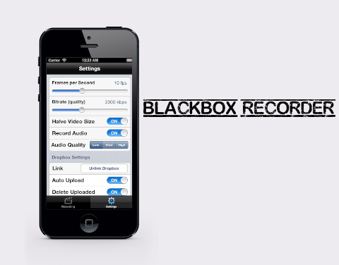 BlackBox Recorder: registra tutto quello che accade sul Display del tuo iPhone! [Cydia]